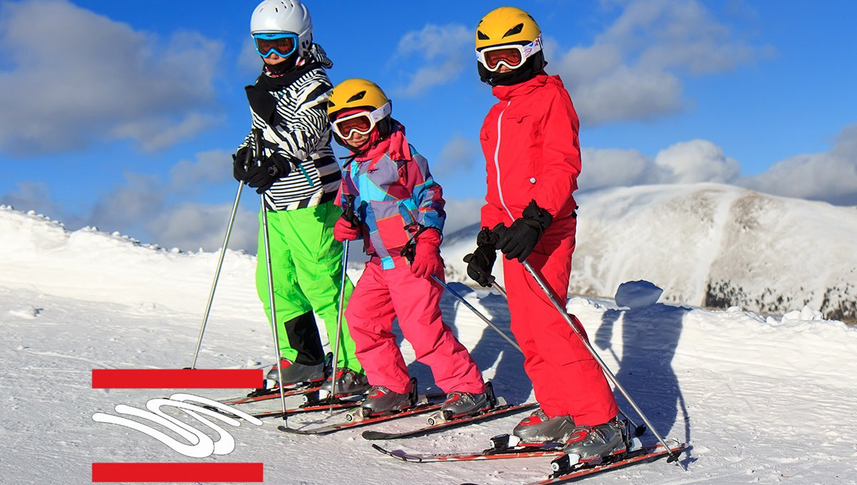 Ski courses for children