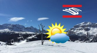 The weather for Dolomites
